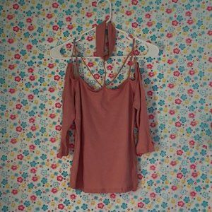 Pink Rose Ambiance Top